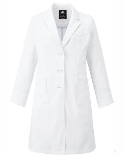 [フォーク] FOLK 【最高級の品質を提案するラグジュアリー白衣】 レディース シングルコート 2537SG (ホワイト)