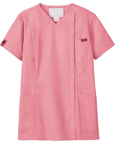 [フォーク] FOLK 【PANTONE ジップスクラブ】 レディース ジップスクラブ 7062SC (ピンク)