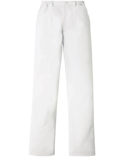 [カゼン] KAZEN 【軽くしなやかなで動きやすい】  レディース パンツ 844-40 (ホワイト)
