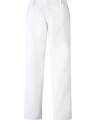 [カゼン] KAZEN 【軽くしなやかなで動きやすい】  メンズ パンツ 845-40 (ホワイト)