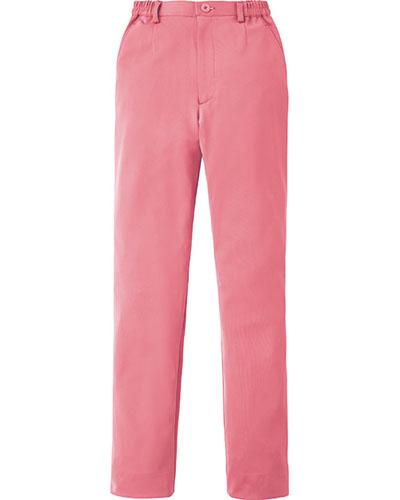 [カゼン] KAZEN 【動きやすい細身の美シルエットパンツ】  レディス スラックス 850-43 (ピンク)