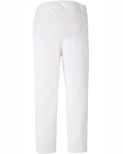 [カゼン] KAZEN 【快適に動ける安心設計のマタニティウェア】 マタニティ パンツ 854-40 (ホワイト)