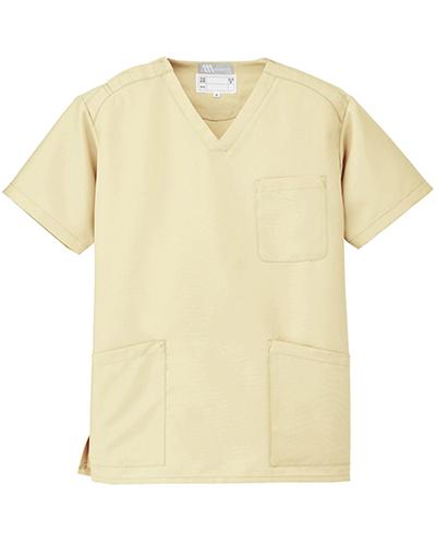[ルミエール] Lumiere 【格安スクラブ/医療白衣】男女兼用 スクラブ 861405 (レモンイエロー)