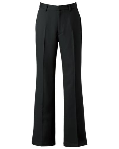 [キャララ] Calala 【足のラインを美しく見せる美脚パンツ】 レディース パンツ AS-7701(ブラック)