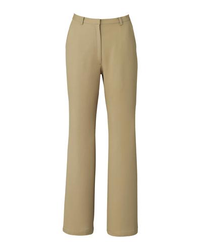 [キャララ] Calala 【ストレッチ素材で履き心地の良いパンツ】 レディース パンツ CL-0013 (ベージュ)