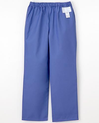 [ナガイレーベン] NAGAILEBEN 【すっきりとしたストレートシルエットのパンツ】女性用パンツ ES-8663 (クールブルー)