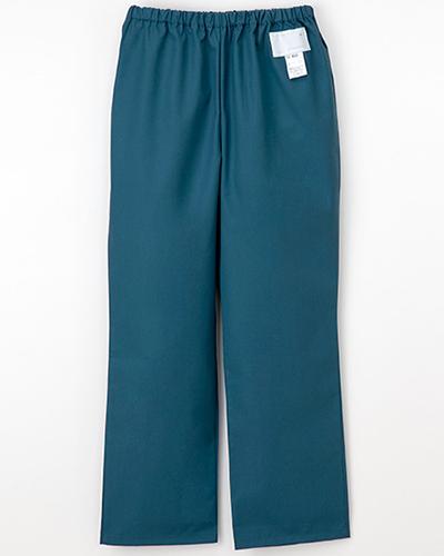 [ナガイレーベン] NAGAILEBEN 【すっきりとしたストレートシルエットのパンツ】女性用パンツ ES-8663 (ピーコックグリーン)