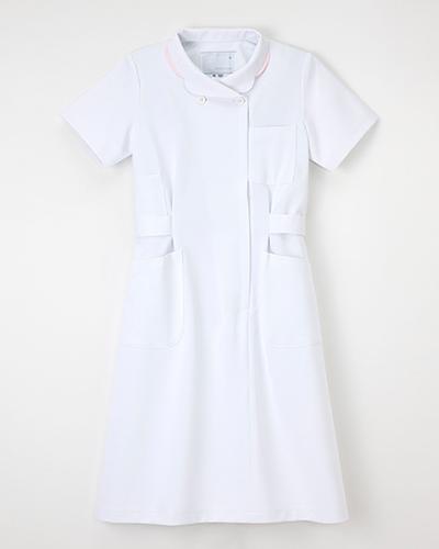 [ナガイレーベン] NAGAILEBEN 【ナース服/医療白衣】ワンピース半袖 HO-1937(ホワイト)