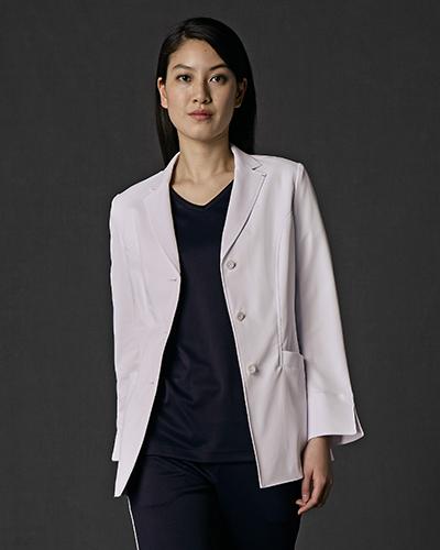 [ジュンココシノ] JUNKO KOSHINO 【幅広く着用できるオーソドックスなジャケット】 レディース ジャケット JK114-11(ホワイト)