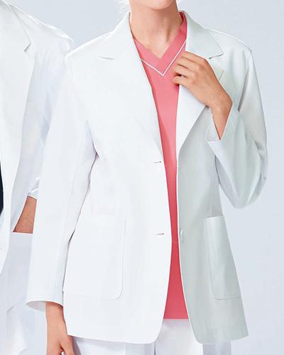 [ナガイレーベン] NAGAILEBEN 【落ち着きと、信頼感を備えたブレザー】 女性用 ジャケット KES-5170 (ホワイト)