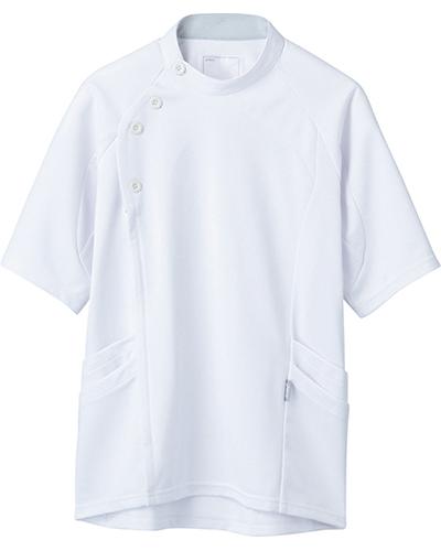 [アシックス] asics 【立体裁断でスムーズな動きを実現した医療ジャケット】 メンズ ジャケット LKM501-0100(ホワイト)