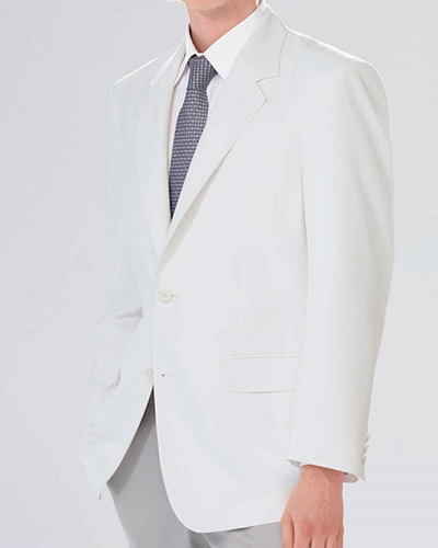 [ナガイレーベン] NAGAILEBEN 【軽くてシワになりにくいブレザー】 男性用 ジャケット MT-2250 (ホワイト)