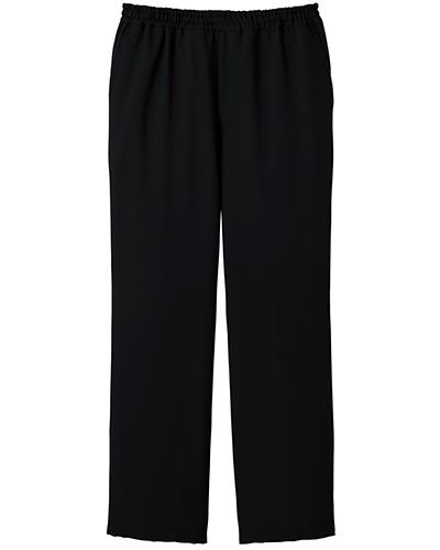 [ミズノ] MIZUNO 【制菌/制電/医療/白衣】 男女兼用 スクラブパンツ MZ-0022 (ブラック)