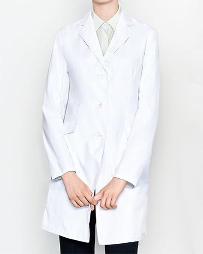 [ミズノ] MIZUNO 【着心地、シルエットにこだわったドクターコート】 レディース ドクターコート MZ-0023   (ホワイト)