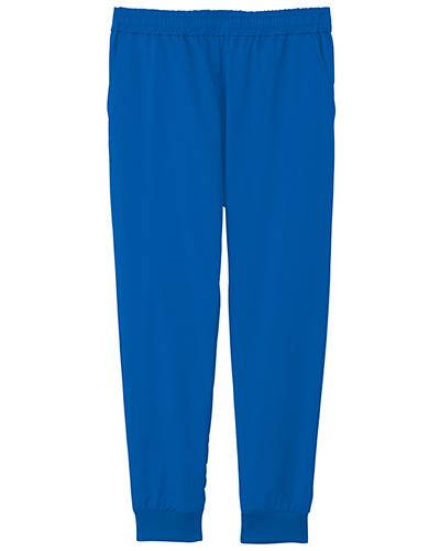 [ミズノ] MIZUNO 【軽くて涼しく動きやすいCOOLMAXファブリック採用】 男女兼用 スクラブジョガーパンツ MZ-0121 (ブルー)