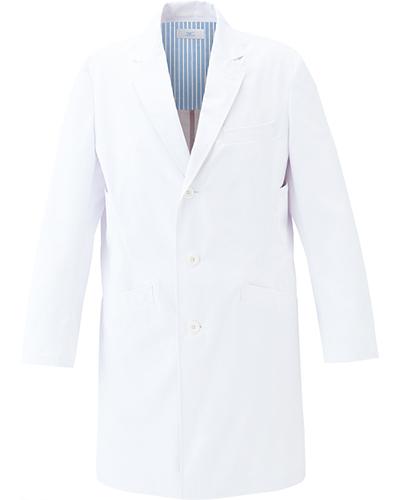 [ミズノ] MIZUNO 【二段の両脇ポケットで収納性抜群のドクターコート】 メンズ ドクターコート MZ-0137  (ホワイト×ホワイト)