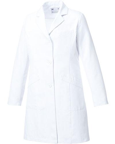 [ミズノ] MIZUNO 【動きやすくスタンダードなドクターコート】 レディース ドクターコート MZ-0175  (ホワイト)