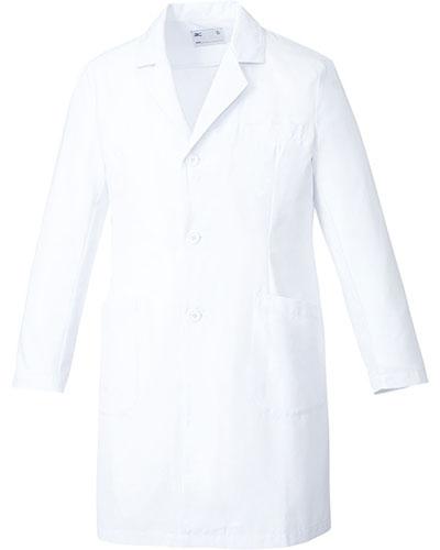 [ミズノ] MIZUNO 【動きやすくスタンダードなドクターコート】 メンズ ドクターコート MZ-0176  (ホワイト)