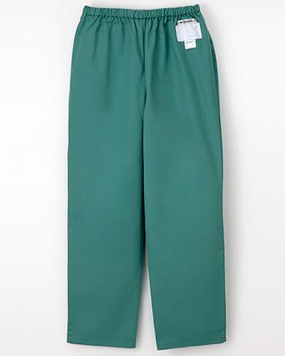 [ナガイレーベン] NAGAILEBEN 【ウエスト総ゴムのゆったりシルエットのパンツ】女性用パンツ NR-8623 (グリーン)
