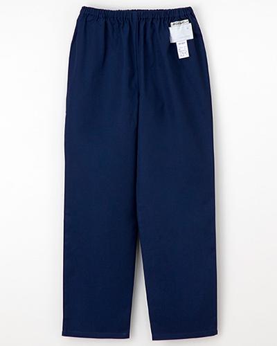 [ナガイレーベン] NAGAILEBEN 【ウエスト総ゴムのゆったりシルエットのパンツ】女性用パンツ NR-8623 (ネイビー)
