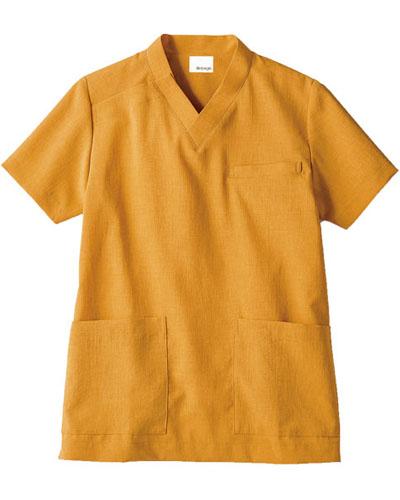 [モンブラン] MONTBLANC 【環境に配慮した天然色素のエコ素材】 男女兼用 スクラブジャケット OV6503-7(オニオン)