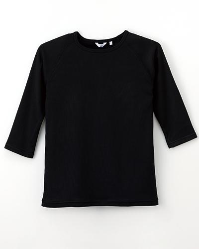 [ナガイレーベン] NAGAILEBEN 【吸湿発熱機能を付きのスクラブインナー】 男女兼用スクラブインナーTシャツ SI-5077(チャコール)