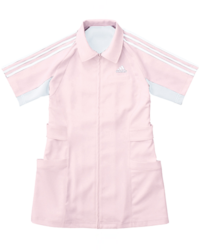 [アディダス] adidas 【ハードなメディカルシーンで活躍するタフウェア】 レディース ジャケット SMS003-13 (ピンク)