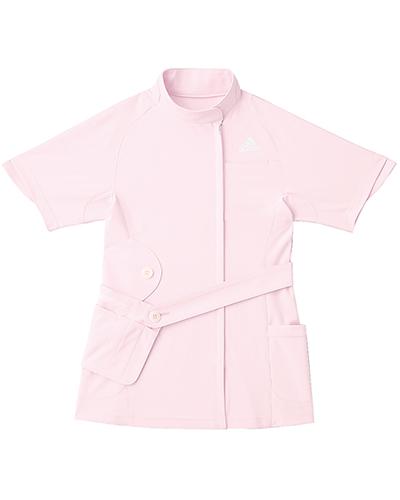 [アディダス] adidas 【ファッション性、動きやすさ、実用性を融合したメディカルウェア】 レディース ジャケット SMS007-13 (ピンク)