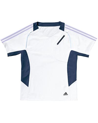 [アディダス] adidas 【スポーツ素材でどんな動きも軽快なスクラブ】 男女兼用 スクラブ SMS111-10 (ホワイト)