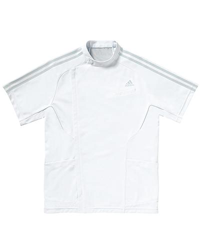 [アディダス] adidas 【医療現場を見極めた機能から魅せるジャケット】 メンズ ジャケット SMS601-17 (ホワイト×グレー)