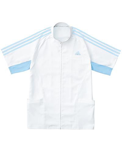 [アディダス] adidas 【汗を即座に乾かし、快適な着心地を長時間キープするジャケット】 メンズ ジャケット SMS603-11 (ホワイト×サックス)