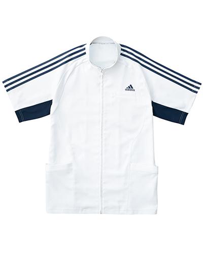 [アディダス] adidas 【汗を即座に乾かし、快適な着心地を長時間キープするジャケット】 メンズ ジャケット SMS603-18 (ホワイト×ネイビー)