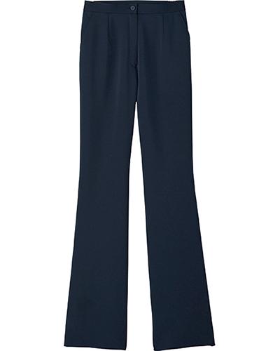 [ボンマックス] BONMAX 【美脚に見えるブーツカットパンツ】 女性用 ブーツカットパンツ TP6300L (ネイビー)