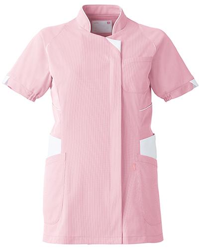 [ユナイト] UNITE 【コードレーン素材採用で上質なチュニック】 女性用 チュニック UN-0043 (ピンク)<廃盤商品>