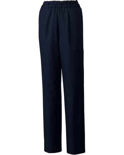 [ユナイト] UNITE 【丈夫さを備えた光沢感のある上品なパンツ】 女性用 スクラブパンツ UN-0072 (ダークネイビー)