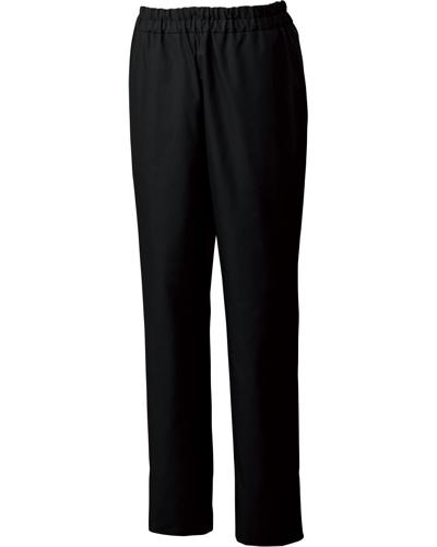 [ユナイト] UNITE 【丈夫さを備えた光沢感のある上品なパンツ】 男性用 スクラブパンツ UN-0073 (ブラック)