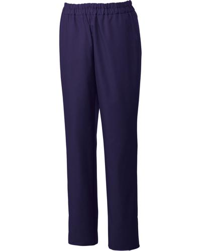 [ユナイト] UNITE 【丈夫さを備えた光沢感のある上品なパンツ】 男性用 スクラブパンツ UN-0073 (ディープパープル)