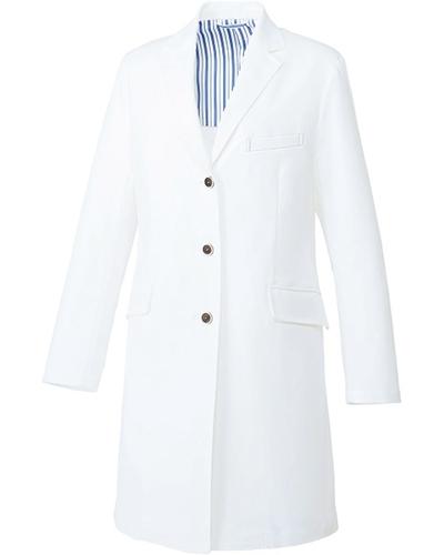 [ユナイト] UNITE 【洗練された上質感を醸すドクターコート】 レディース ドクターコート UN-0079 (ホワイト)