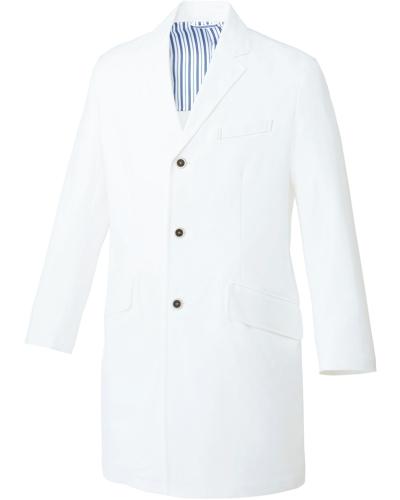 [ユナイト] UNITE 【洗練された上質感を醸すドクターコート】 メンズ ドクターコート UN-0080 (ホワイト)