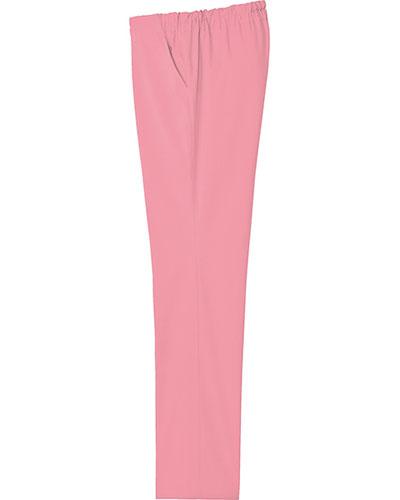 [ルコックスポルティフ] le coq sportif 【ウエスト総ゴムで楽々フィット】  男女兼用 ストレートパンツ UQM2022 (ピンク)