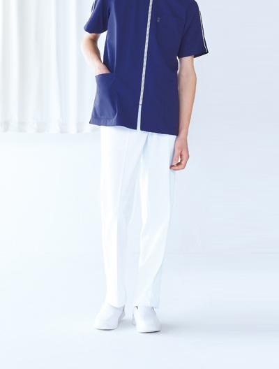 白衣 パンツ
