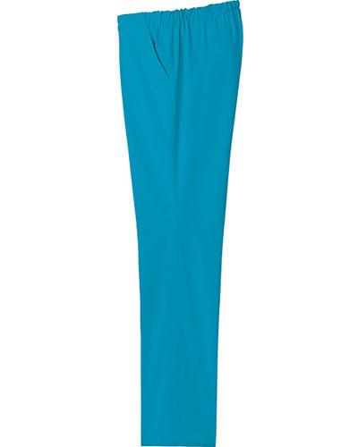 [ルコックスポルティフ] le coq sportif 【ウエスト総ゴムで楽々フィット】  女性用 ストレートパンツ UQW2027 (ターコイズ)