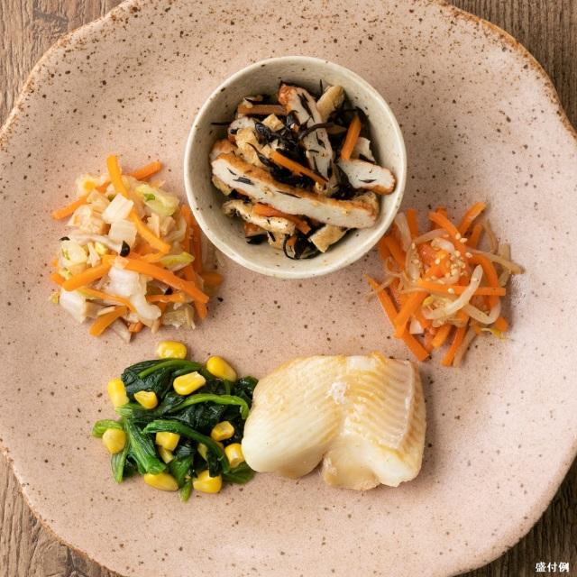 カロリー制限食:カレイの煮付けセットC