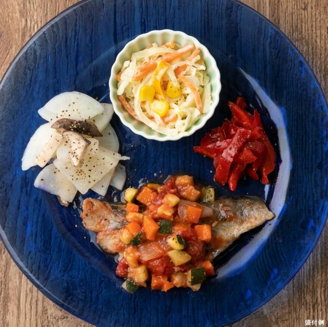 バランス健康食:白身魚のラタトゥイユソースB