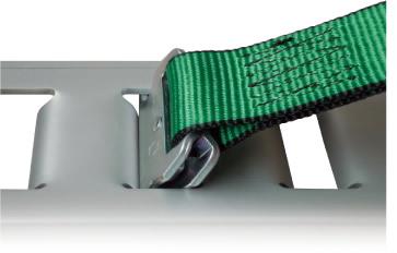 ラッシングベルト ラチェット式 Tワンピース仕様 R5TP15(固定側:1m/調節側:5m)