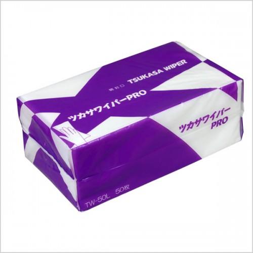 【9パックセット】ツカサワイパーPRO(TW-50L) レーヨン+PET 9パック入り(1パック:50枚入り)