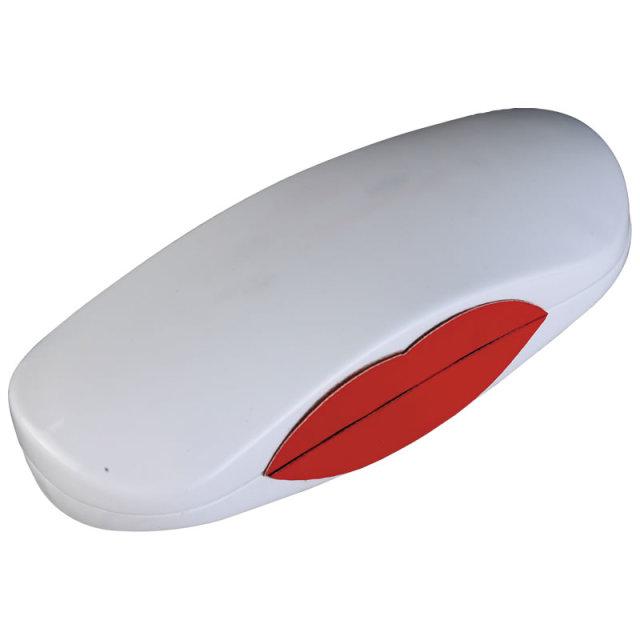 ベロ型メガネクロスがキュートで便利なメガネ(眼鏡)ケース「A-220リップケース」