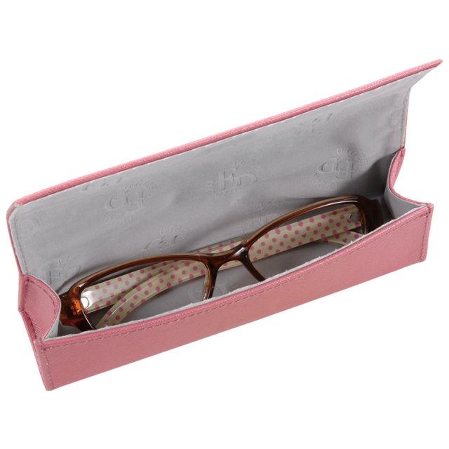 コンパクトで軽く使いやすいセミハードタイプのメガネケース(眼鏡ケース)。D-600 サフィアン