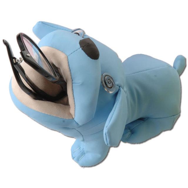 ぬいぐるみタイプの可愛いメガネケース(眼鏡ケース) E-5 「アニマルスタンドPU」