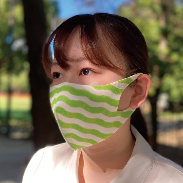 抗菌加工、洗濯可能、優れた伸縮性、3Dデザインのファッションマスク「FM-9ファッションマスクM」